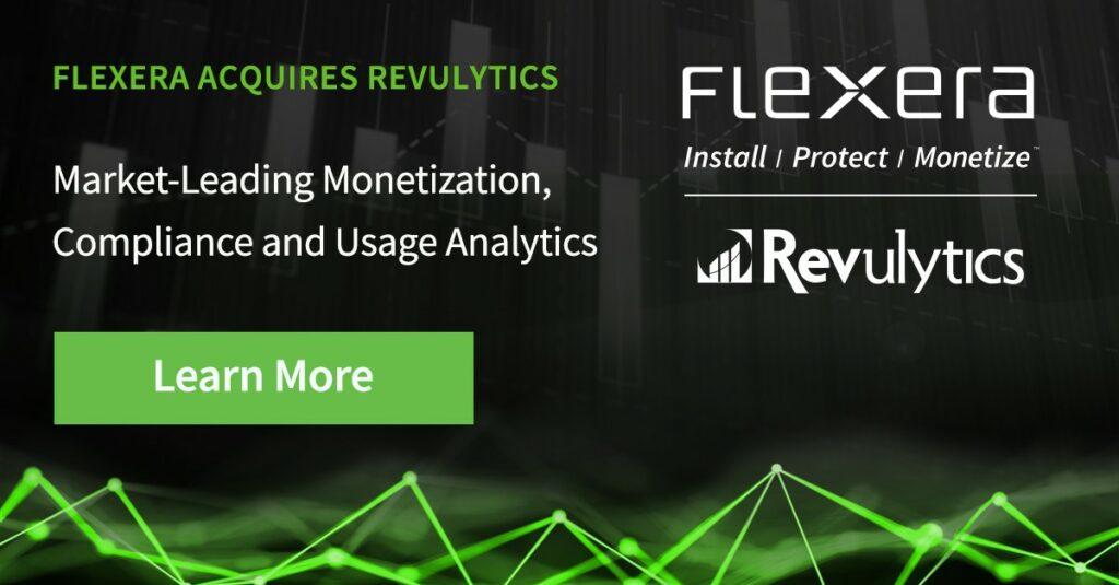 Flexera acquires Revulytics
